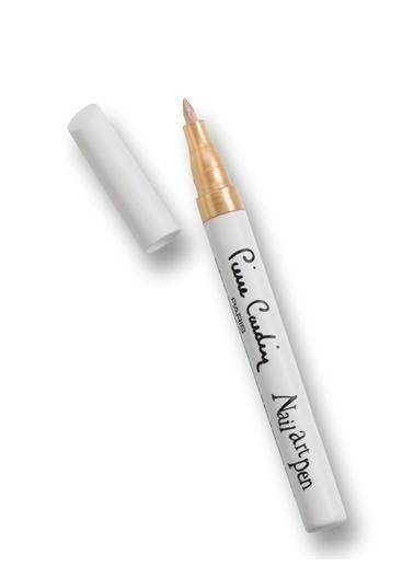 Pierre Cardin Nail Art Pen Tırnak Kalemi - Metallic Gold Sarı